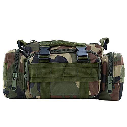 HomeArts 10L Sling Bag Tactical Assault Equipment Bag Randonnée Sac de Taille Sac à bandoulière EDC Camera Bag Molle Modular Military Waist Bag I