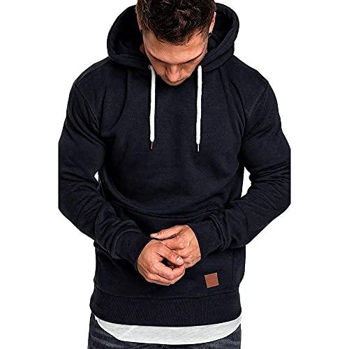 Negro Hoodie Ropa Hombre Marca Outlet Hooded Basic Abrigo Chaqueta para Hombre Unisex Regalo Sudaderas con Capucha de Halloween para las Hombre Juveniles Chico O Hombre 7 Colors M/L/Xl/2xl/3xl
