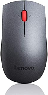 Lenovo mouse laser wireless professionale, Black