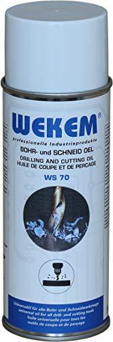 6x 400ml Wekem Bohr- Schneidöl WS70