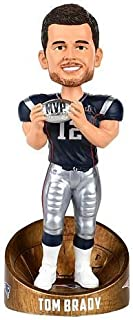 Forever Collectibles Tom Brady New England Patriots Super Bowl LI MVP - Blue Jersey Bobblehead NFL
