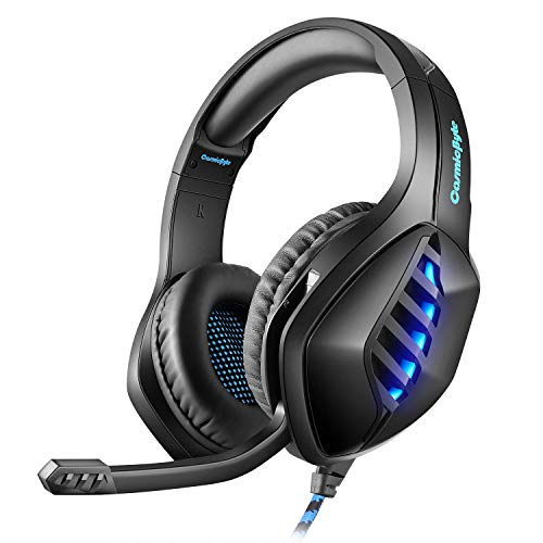 Cosmic Byte GS430 Gaming Headphone, 7 Color RGB LED and...