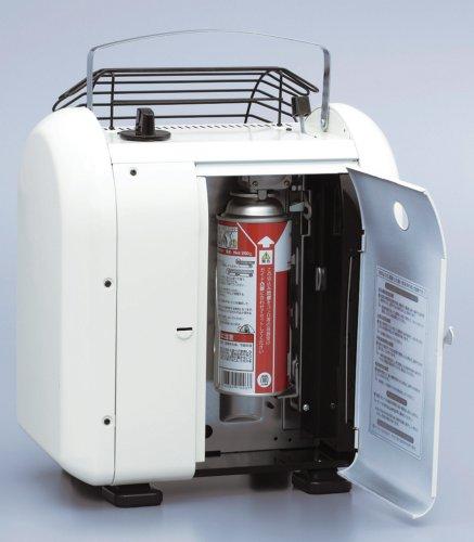 ニチガスポータブルカセットヒーターどこでも暖坊ホワイトNCH-22SW