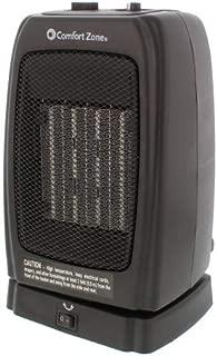 comfort zone digital oscillating compact heater