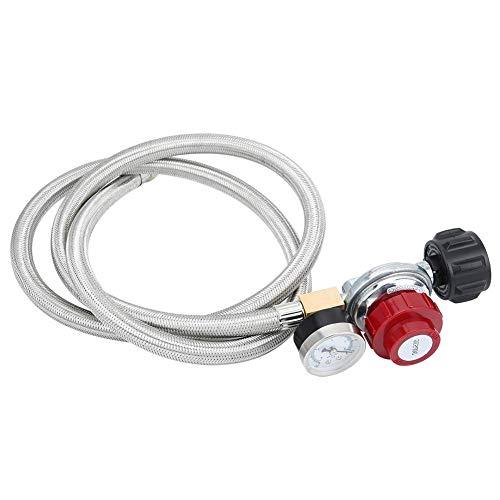 0-30 PSI slang propaan-aansluiting instelbare hogedruk-regelaar voor gas-BBQ-grill