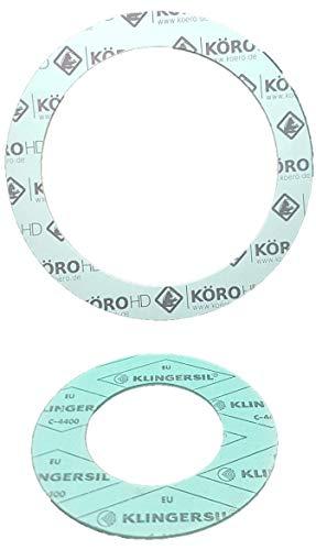 3//8-1 Juego de juntas planas para sanitarios 41 piezas KLINGERSIL C-4400