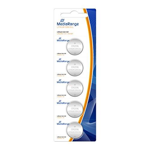 MediaRange MRBAT136 household battery Single-use battery CR2016 Litio 3 V - Pilas (Single-use battery, CR2016, Litio,...