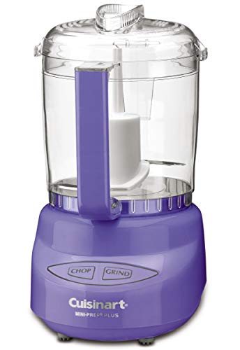 Cuisinart CGC-4PFSAFR Mini-Zerkleinerer für 4 Tassen, Violett
