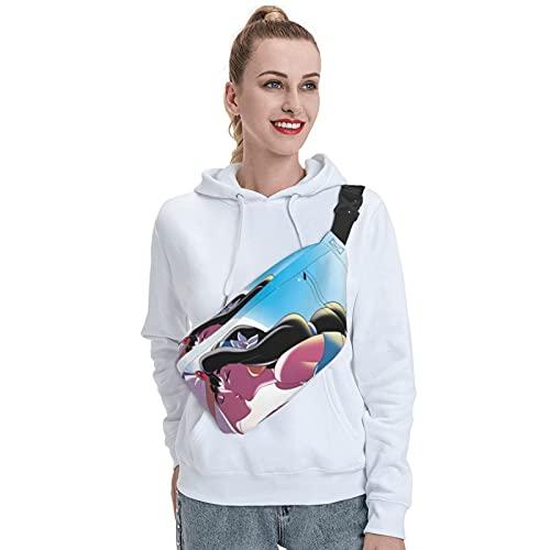 Skylivenation Aladdin - Mochila bandolera resistente al aire libre, mochila cruzada con correa antirobo, mochila ligera para senderismo, bolsa de viaje para hombres y mujeres.