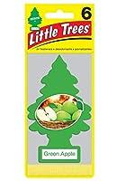 リトルツリー エアフレッシュナー 【Green Apple 6pac】 お得な6枚セット!LittleTree 芳香剤 グリーンアップル6枚組