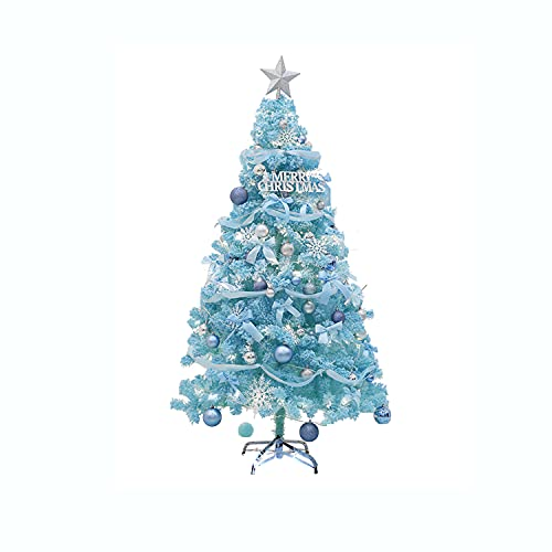 60cm, 90cm, 4ft, 5ft Árbol Artificial De Navidad Dreamy Blue Fairy Tale...