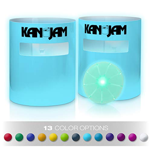 Kan Jam Illuminate Multi-Color– Original Disc Throwing Game with 6-Color LED Light Goals