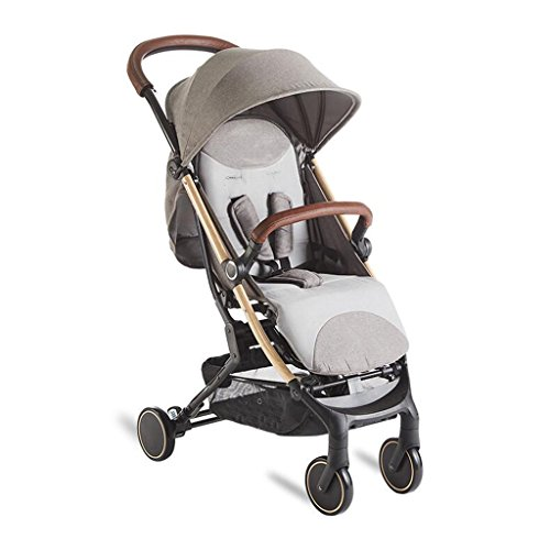 Review Of MEI Baby Trolley Baby Stroller High Landscape Can Sit Horizontal Portable Folding 4 Wheel ...