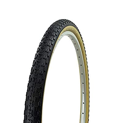Fenix Cycles Wanda Bicycle Tire 24 x 1.75, COMP3 BMX Tread, (Black/Gum)