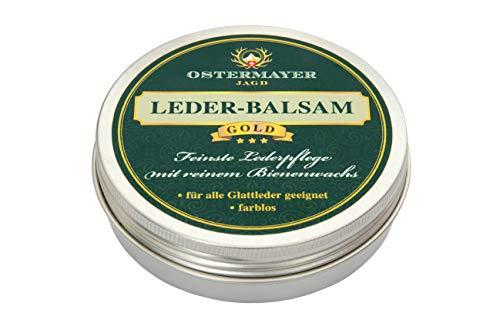 Ostermayer Jagd Leder-Balsam Gold 50g Bienenwachs Lederpflege
