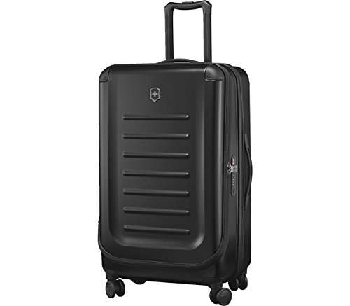 Victorinox Spectra 2.0 Hardside Spinner Suitcase, Black, Expandable...
