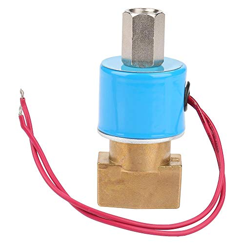 Jeanoko QX23-08 Valvola 0-0.9Mpa Robusta elettrovalvola KSD a Controllo rapido per Gas 450g(DC24V)