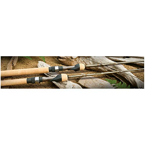 St. Croix PFS69ULF Panfish Graphite Spinning Fishing Rod with Fortified Resin System 6feet 9inches