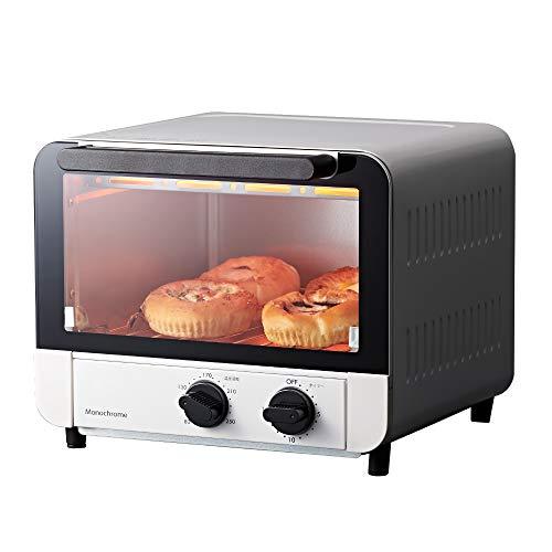 コイズミ オーブントースター 1200W ホワイト KOS-1270/W モノクローム  [Amazon限定ブランド]