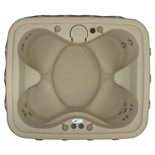 AquaRest Spas AR-400 4 Person 14 SS Jets with Easy Plug and Play and LED Waterfall