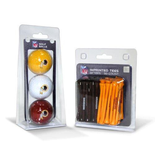 Buy Cheap Team Golf NFL Washington Redskins Logo Imprinted Golf Balls (3 Count) & 2-3/4 Regulation ...
