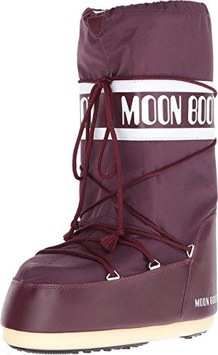 Tecnica Moon Boot Nylon, Botas de Nieve Unisex Adulto, Negro (Black 001), 42/44 EU