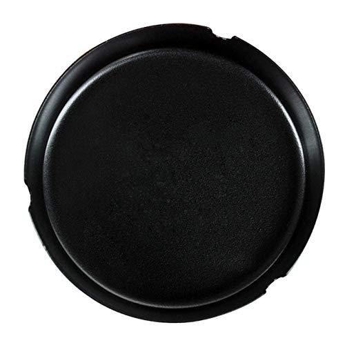 Cenicero de Letras inglesas Creativas SDFJKOMetal para Restaurante, Soporte de cenicero Redondo de Acero Inoxidable Negro con Logotipo Personalizado, en Blanco