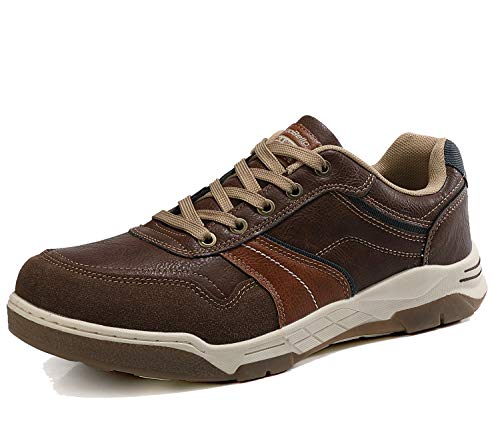 AX BOXING Freizeitschuhe Herren Walkingschuhe Berufsschuhe Sneaker Wanderschuhe Trainers (43 EU, Dr.braun)