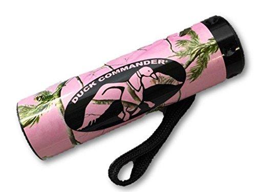 Duck Commander Dynasty - Linterna compacta con 9 ledes, diseño de camuflaje, color rosa