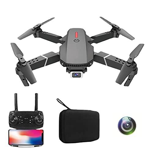 JJDSN Drone para fotografía aérea, avión teledirigido Plegable de Cuatro Ejes 4K HD, batería de Larga duración