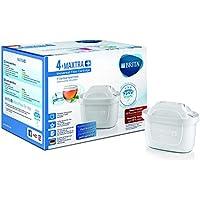 BRITA MAXTRA+ – 4 filtros para el agua – Cartuchos de filtrado para el agua – Recambios compatibles con jarras BRITA que reducen la cal y el cloro