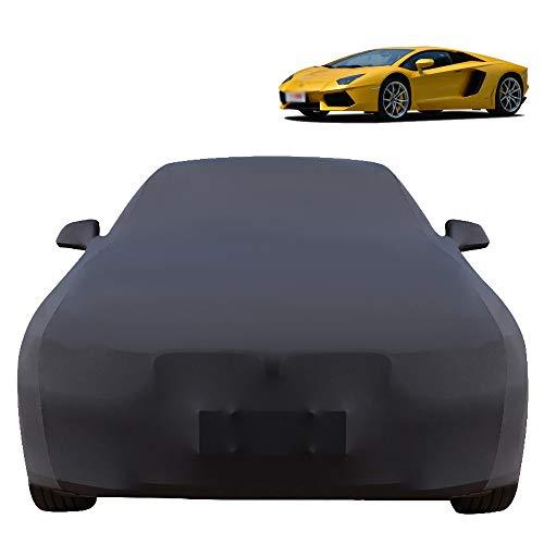 Wanjun La Funda para Coche Es Compatible con Lamborghini Aventador, Funda para Coche De Tela Elásti
