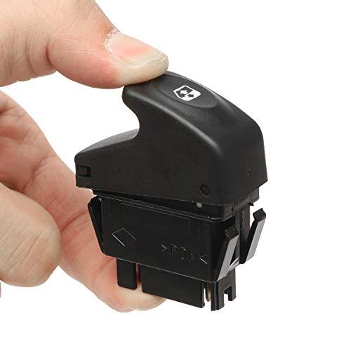 YONGYAO Botón De Interruptor De Ventana Maestro Eléctrico para Renault Kangoo Megane Clio