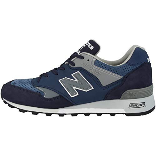 New Balance M577NVT, Trail Running Shoe Unisex Adulto, Azul, 44 EU
