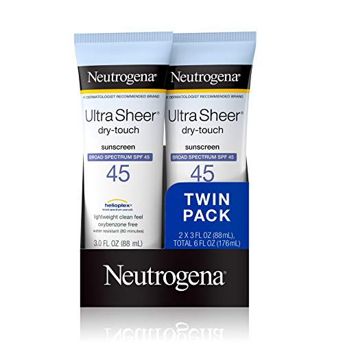 Neutrogena Ultra Sheer Sunscreen Review​