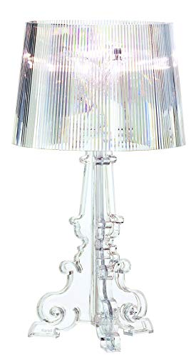 Kartell Bourgie, Table Lamp, Glasklar, Mit dimmer