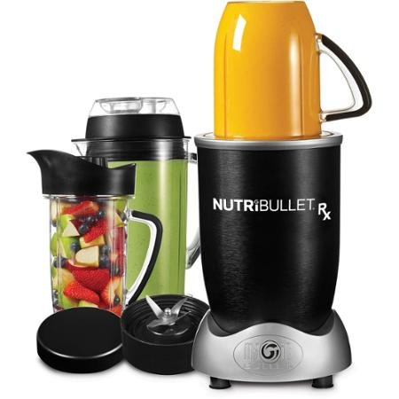Nutribullet RX Blender Smart-Technologie mit Auto-Start und Stopp-Funktion