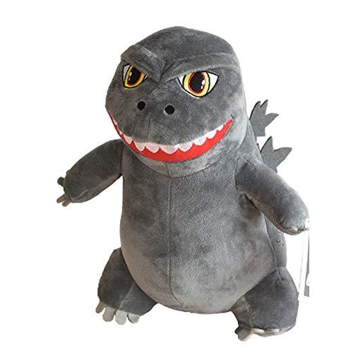 zdfbhkm Godzilla q Version Plüsch Tierpuppe Puppe Kissen Geburtstagsgeschenk kleine Maus Dekoration Stütze A