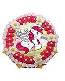 Original Tarta Infantil Decorativa de Golosinas con Oblea'Dibujos' en Bolsa Celofán. Dulces. Juguetes y Regalos. Decoración para Cumpleaños, Bodas, Bautizos y Comuniones. DC