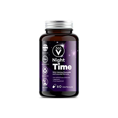 New: Natural Sleeping Tablets – Reduce Insomnia, Stress and Anxiety and Wake Up Feeling Refreshed – Box of 60 Tablets