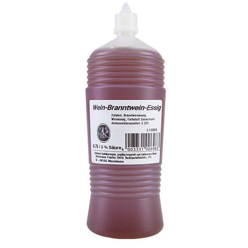 Hauer - Wein-Branntwein-Essig - 750ml (6 Flaschen)