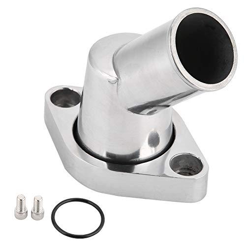 Cuello de agua, Aluminio pulido a 45 ° Giratorio Cuello de agua para Chevy accesorios de motores