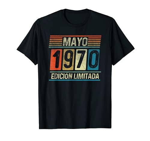 Mayo 1970 Vintage - 51 años Regalo Cumpleaños Hombre Camiseta