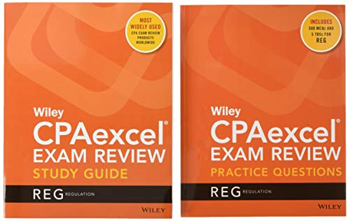 Wiley CPAexcel Exam Review 2020 Study Guide + Question Pack: Regulation (Wiley CPAexcel Exam Review