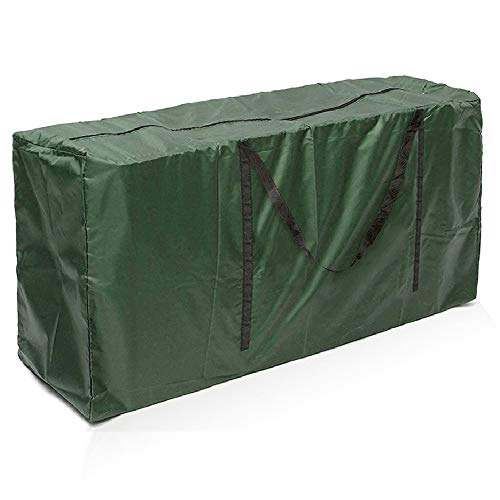 Enjoygoeu Bolsa de Almacenamiento Ligera e Impermeable de Árbol de Navidad Resistentes Carcasa de Transporte Liviana para Guardar Cojín Muebles Otros Accesorios de Jardín Patio (173 x 76 x 51 cm)