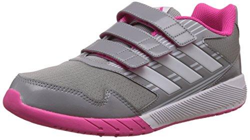 adidas Unisex Kinder Altarun Cf K Leichtathletik-Schuh, Grigio Grimed Ftwbla Rosimp, 35 EU