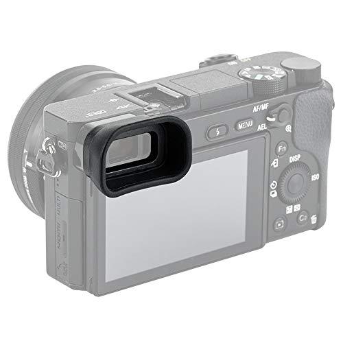 PROfezzion Visor Ocular Silicona Suave de Largo y Extendido para Sony Alpha A6300, A6100, A6000, NEX7, NEX6 Reemplazo Sony FDA-EP10