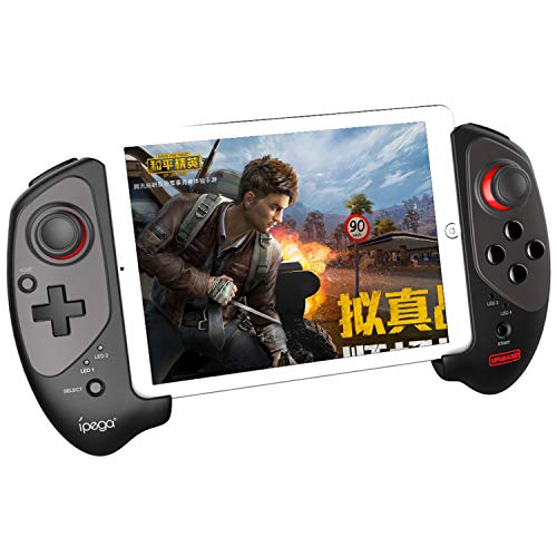 """IPEGA PG-9083S Mobile Game Controller, Wireless Gamepad Gaming Trigger Game Controller Joystick Compatible with 5-10"""" iOS/Android Phone PC Tablet - Direct Play"""