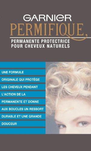 Garnier Permifique Permanente Protectrice, Pour Cheveux Naturels, Effet Durable, Inclus : Lotion de Permanente et...