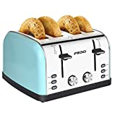 Best 4 Slot Toasters - 4 Slice Toaster Stainless Steel Extra Wide Slots Review